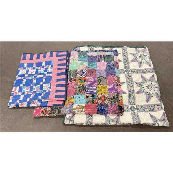 Group of Vintage Quilts