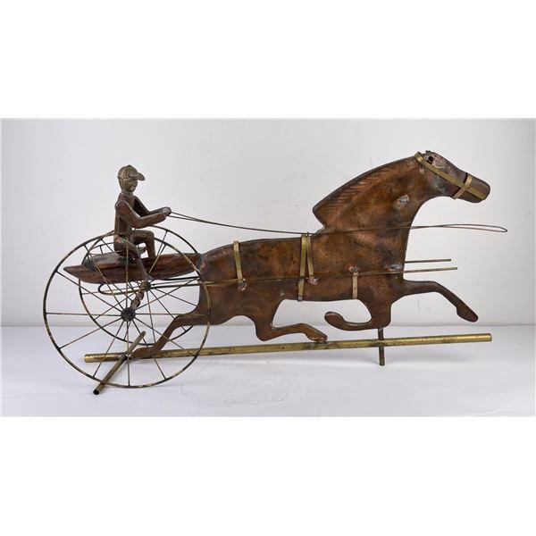 Reproduction Copper Horse Weathervane