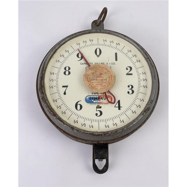 Antique Dry Goods Store Mercantile Scale