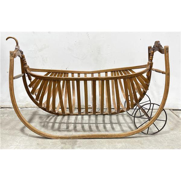 Antique Southern Plantation Slave Cradle