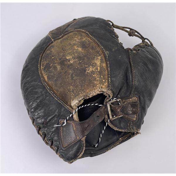 Antique Buckle Back Baseball Glove Mitt