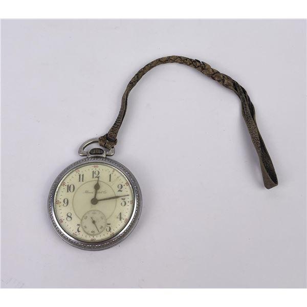 Antique Illinois Railroad Pocket Watch
