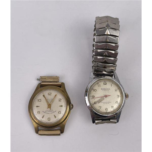 Pair of Vintage Mens Wristwatches