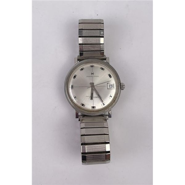 Hamilton Thin O Matic Stainless Steel Watch