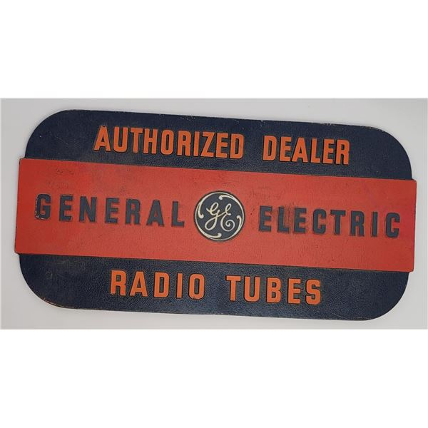 General Electric Authorized Dealer Sign