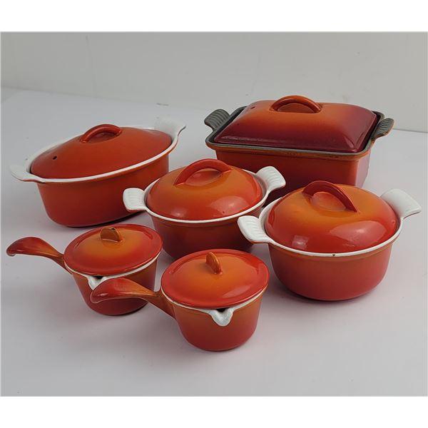 Mid Century Descoware Cast Iron Cookware