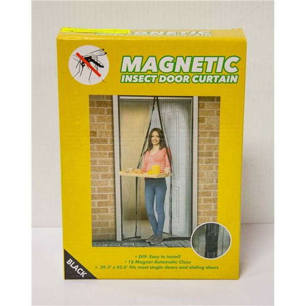 MAGNETIC INSECT DOOR CURTAIN