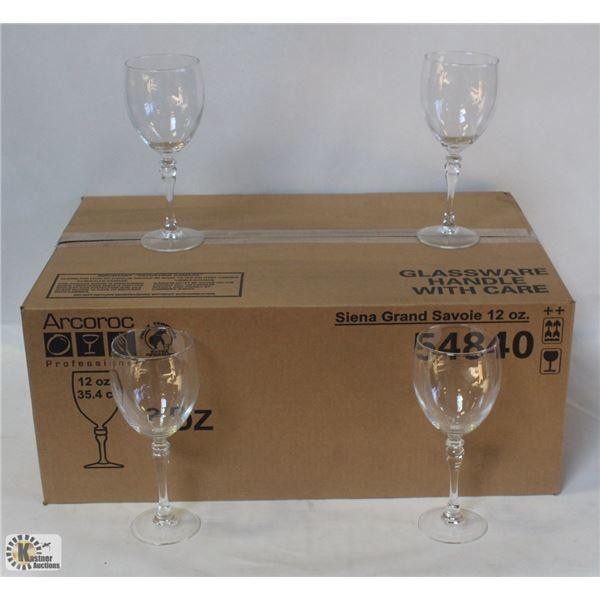 ARCOROC 54840 SIENNA 12OZ GRAND SAVOIE GLASS
