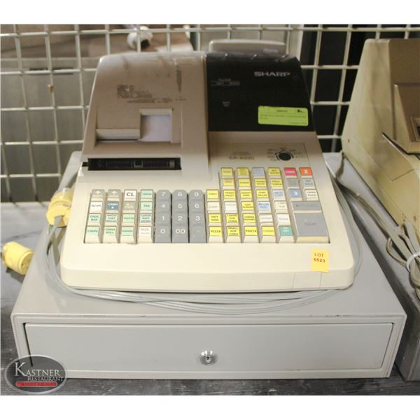 SHARP ELECTRONIC CASH REGISTER ER-330