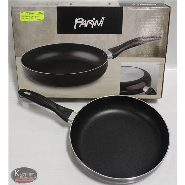 "NEW PARINI 10.5"" ALUMINUM NON-STICK FRYING PAN"