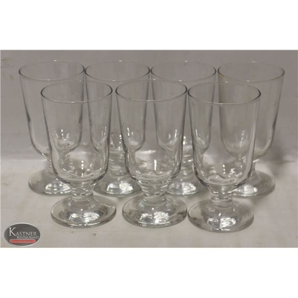 BOX OF 7 COCKTAIL GLASSES