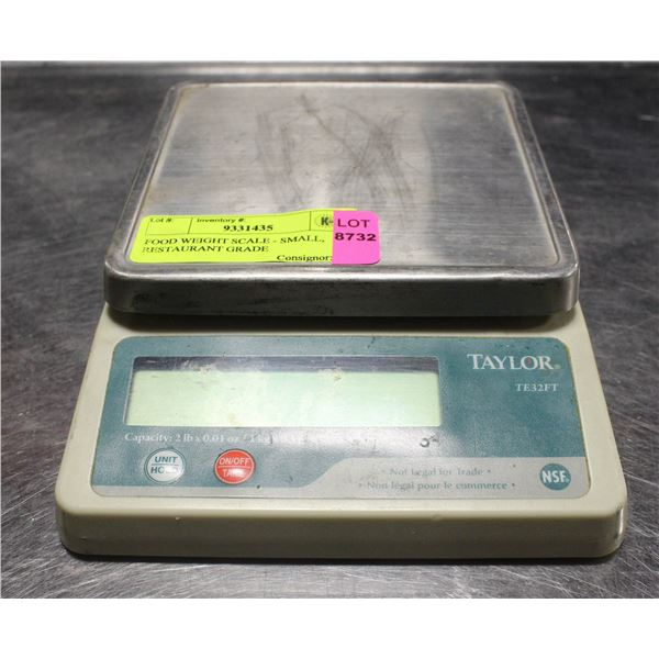 FOOD WEIGHT SCALE - SMALL, RESTAURANT GRADE