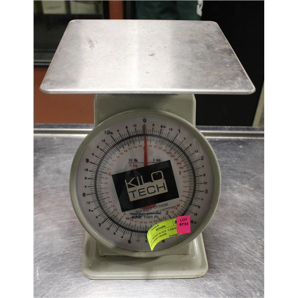 FOOD WEIGHT SCALE - LARGE, RESTAURANT GRADE