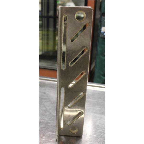 STAINLESS STEEL 5-SLOT KNIFE HOLDER