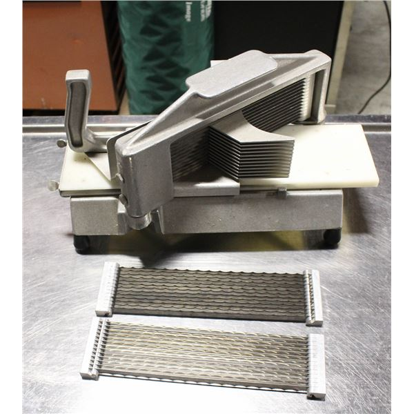 COMMERCIAL TOMATO SLICER W/ EXTRA BLADES