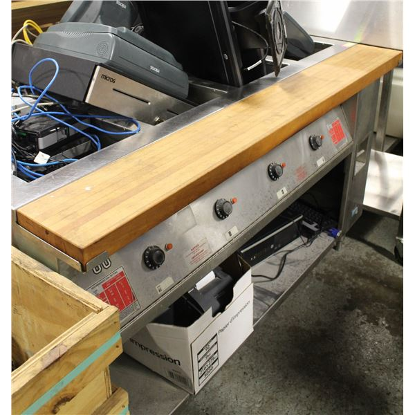 COMMERCIAL ANTONEE 4-WELL STEAM TABLE