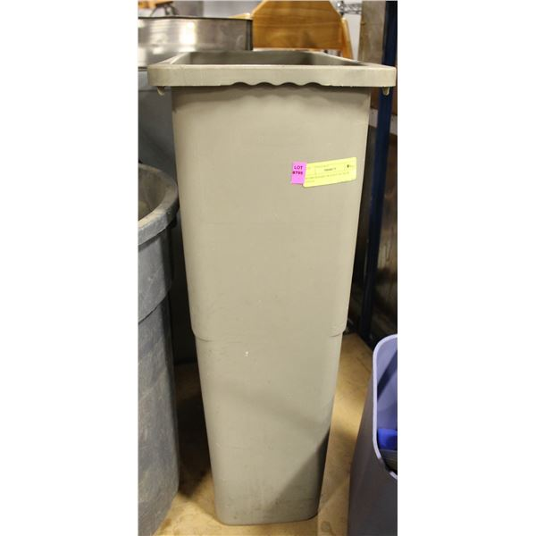 RUBBERMAID TRASH CAN SLIM STYLE