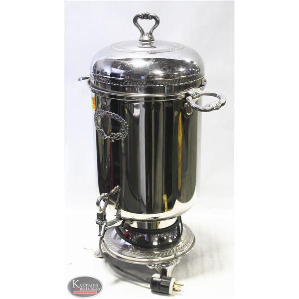 FARBERWARE VINTAGE S/S  AUTOMATIC COFFEE URN