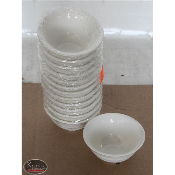 K13 BAILIFF SEIZURE:LOT OF 13 GLASS RAMEKINS