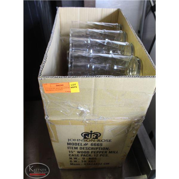 K13 BAILIFF SEIZURE:LOT OF 37 HIGHBALL GLASSES
