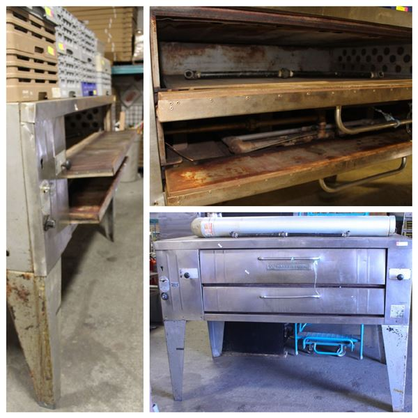 FEATURED LOT: BAKERS PRIDE SINGLE DECK PIZZA OVEN
