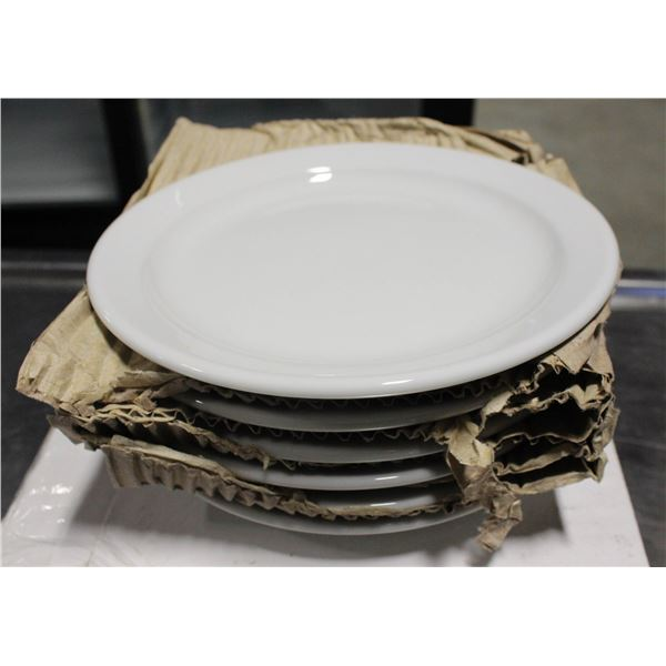 """THREE CASES OF 6 NEW SMALL PLATES 6"""""""
