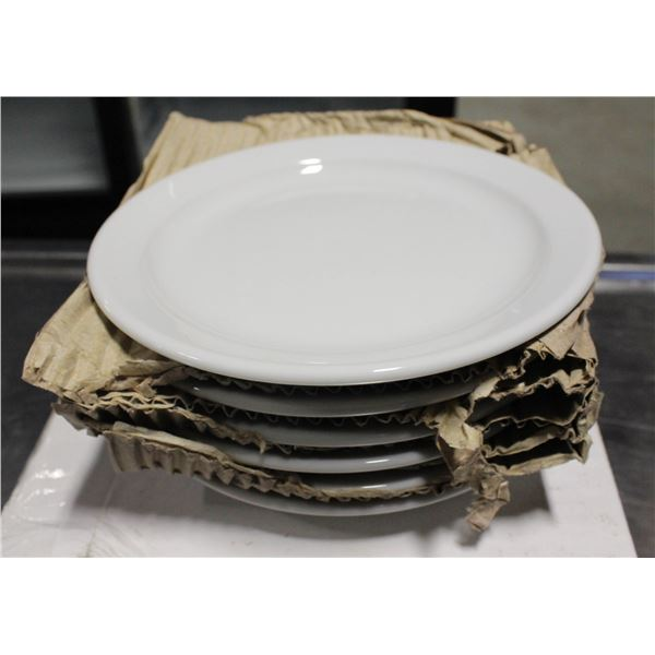 """TWO CASES OF 6 NEW SMALL PLATES 6"""""""