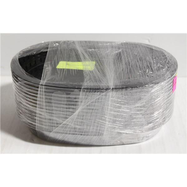 """16 TABLECRAFT PLASTIC BASKETS IEM 1076 - 10.5"""" X"""