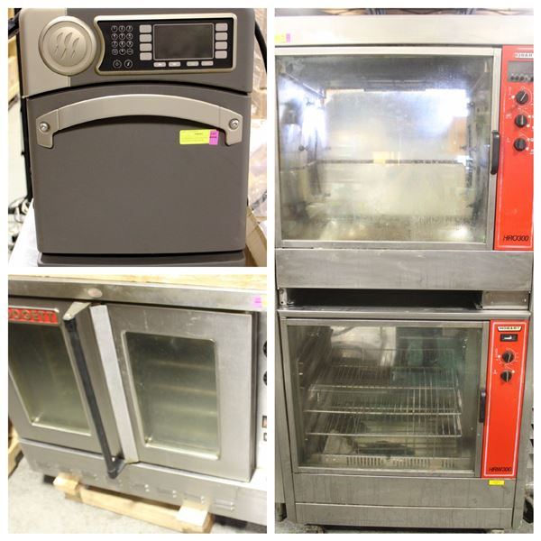 FEATURED LOTS: COMMERCIAL OVENS