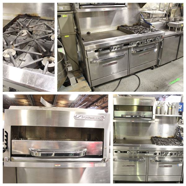 """FEATURED LOT: SOUTHBEND NAT GAS COMBINATION RANGE W/ 36"""" GRIDDLE"""
