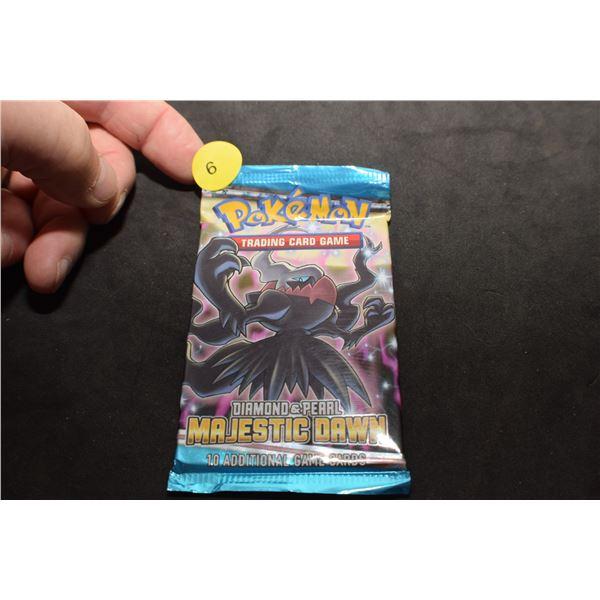 Vintage sealed Pokemon trading cards pack