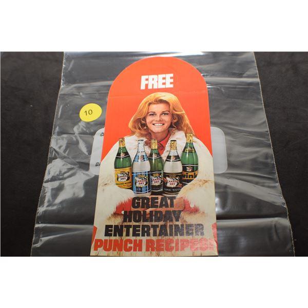 Vintage Anne Margret Canada Dry advertisement