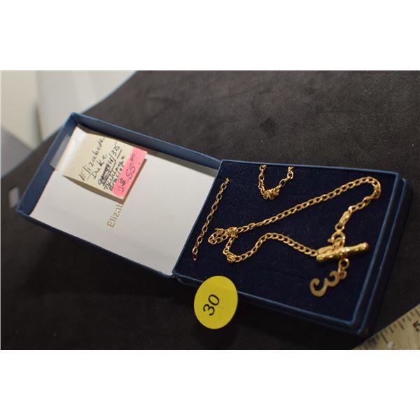 Elisabeth Duke bracelet and chain