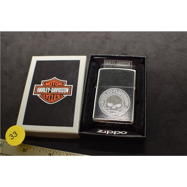 NOS Harley Davidson Zippo Lighter