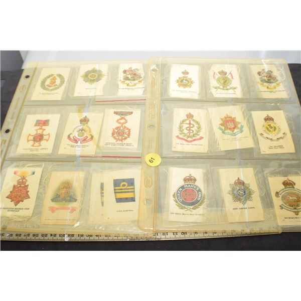 Military Tobacco Silks