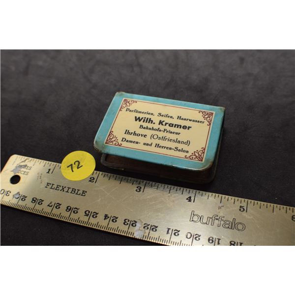 Antique matchbox holder