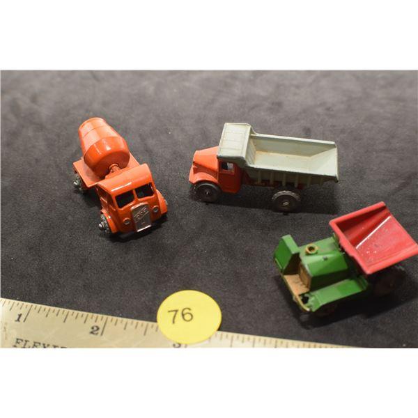 Rare 1950's Lesney miniature toys