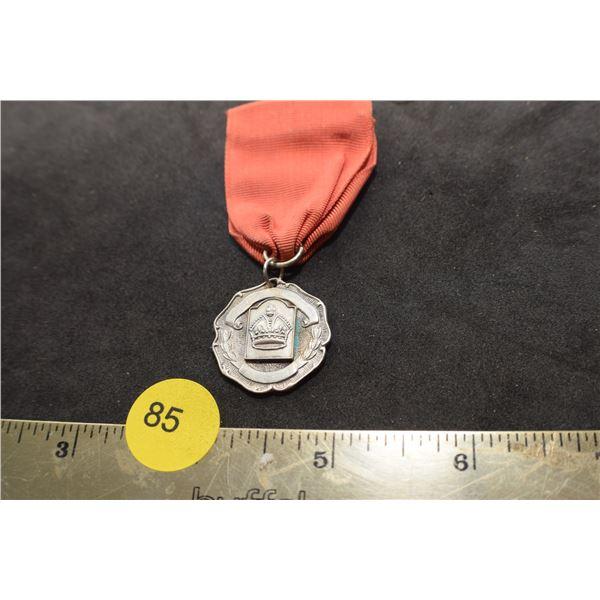 Sterling 1953 Dance medal