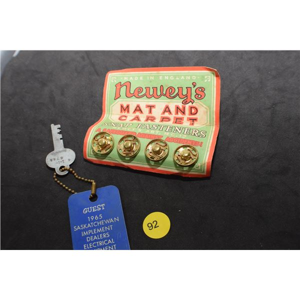 Antique SNAP fasteners