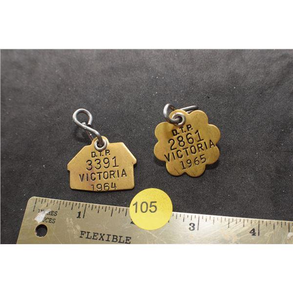 Victoria Dog Tags