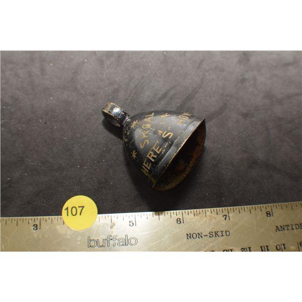 """Skoal Bell antique """"Let's Drink"""""""