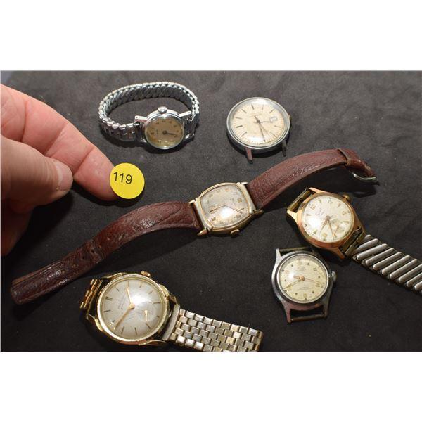 Antique watch lot
