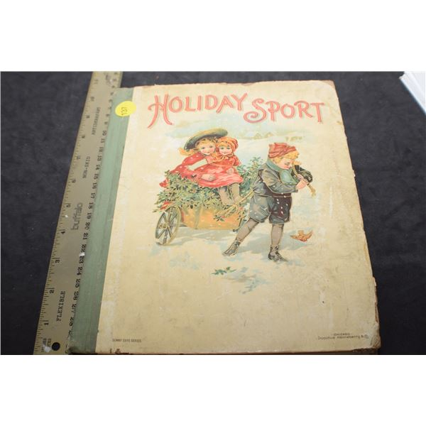 1900 Holiday Sport book