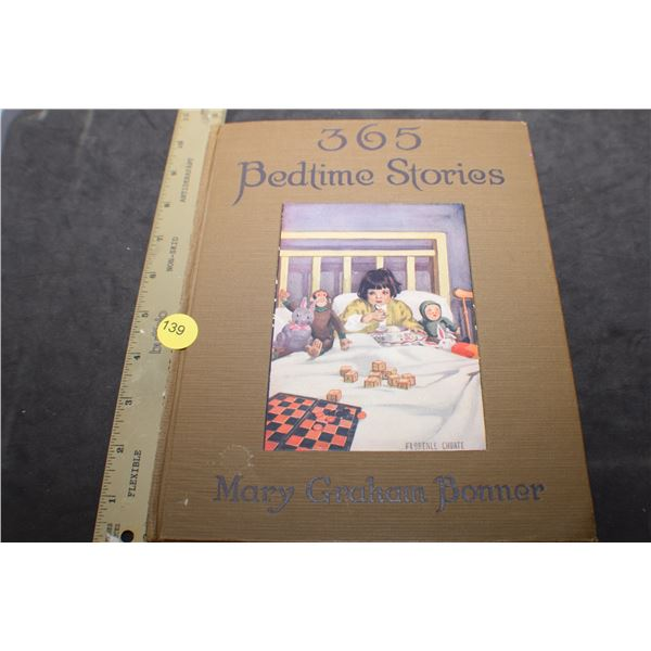1923 1st edition 365 bedtime stories book - very clean