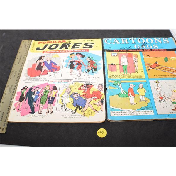 Adult humor Vintage magazines
