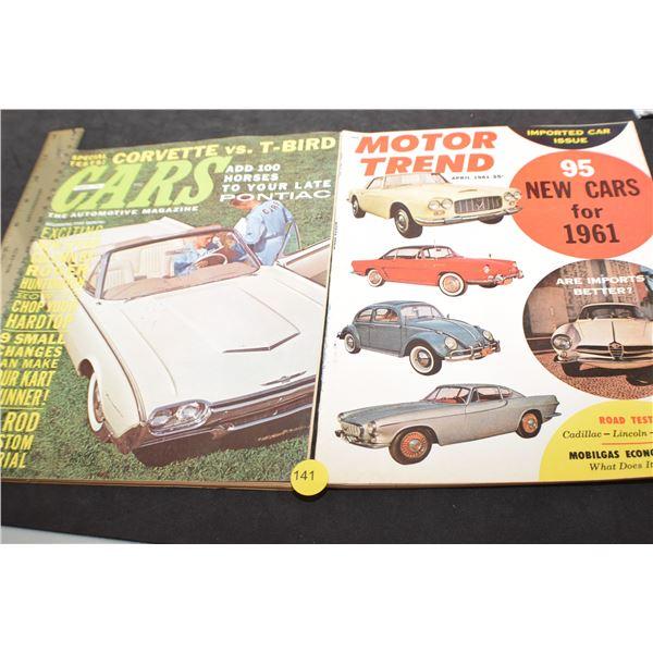 Vintage Auto magazines