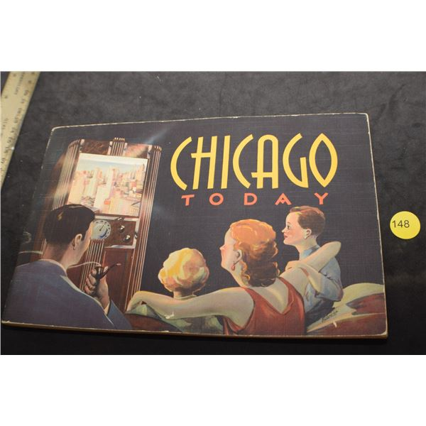 Art Deco Antique Chicago book