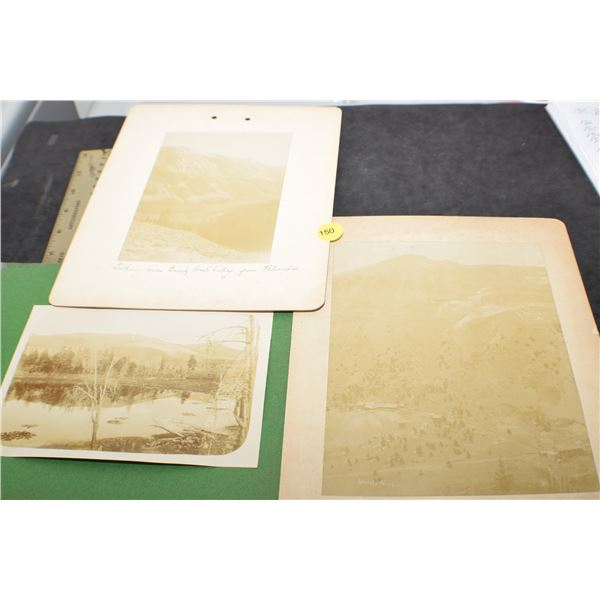 1800's Cripple Creek - gold mine photographs