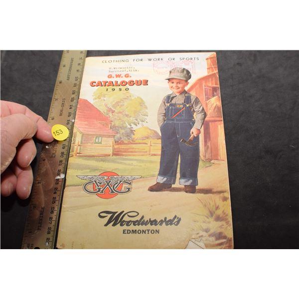 1950 GWG Jean catalog
