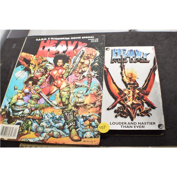 Heavy metal movie and magazine